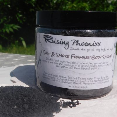 Black Volcanic Sea Salt Scrub